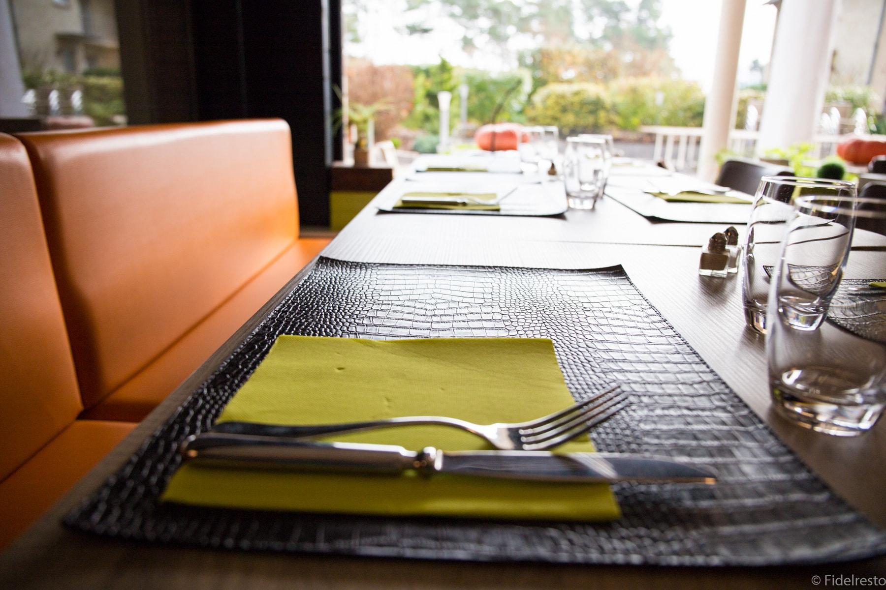 table restaurant verger de bischwiller